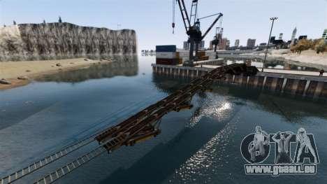 Anspruchsvolle Strecke für GTA 4 dritte Screenshot