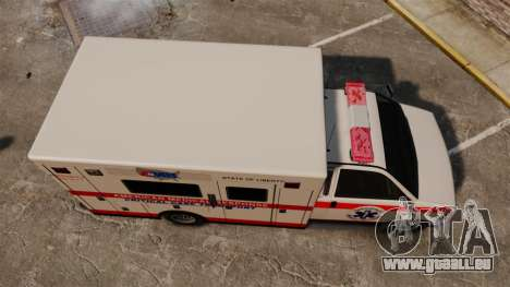 Brute Ambulance v2.1-SH für GTA 4 rechte Ansicht