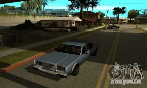 Shadows in the style of RAGE für GTA San Andreas