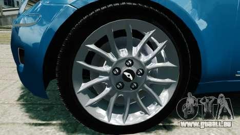 Hyundai Genesis V6 Sedan pour GTA 4 est un droit