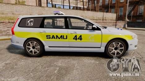 Volvo V70 SAMU 44 [ELS] für GTA 4 linke Ansicht