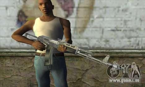 AK47 из S.T.A.L.K.E.R. pour GTA San Andreas troisième écran