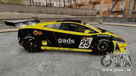 Lamborghini Gallardo LP560-4 GT3 2010 Gads für GTA 4 linke Ansicht