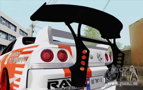 Nissan Skyline GT-R32 für GTA San Andreas rechten Ansicht