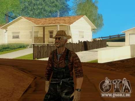 Agriculteur ou modifiée et complétée pour GTA San Andreas