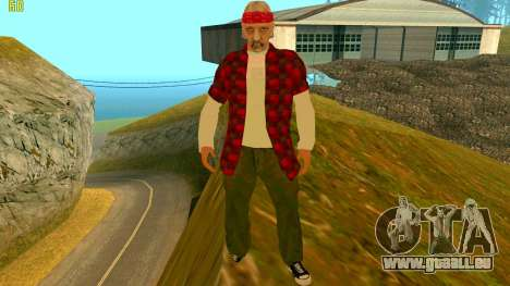 Die neue textur Wahrheit für GTA San Andreas