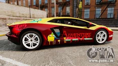 Lamborghini Aventador LP700-4 2012 [EPM] Jake pour GTA 4 est une gauche