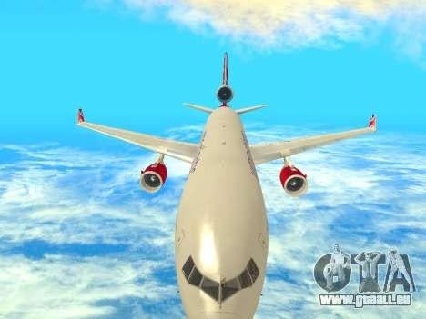 McDonnell Douglas MD-11 pour GTA San Andreas vue intérieure