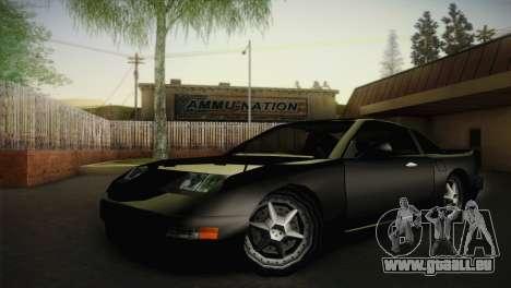New Euros V1 pour GTA San Andreas vue de droite