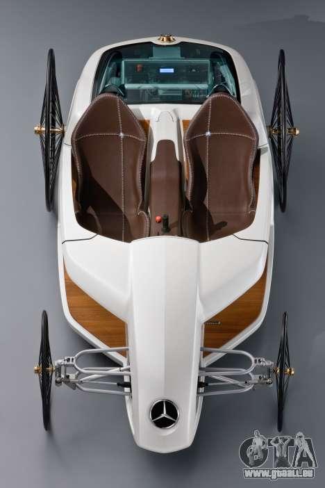 Boot-screens Mercedes-Benz F-CELL Roadster für GTA 4 achten Screenshot