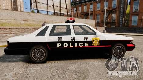 GTA SA Japanese Police Cruiser [ELS] für GTA 4 linke Ansicht