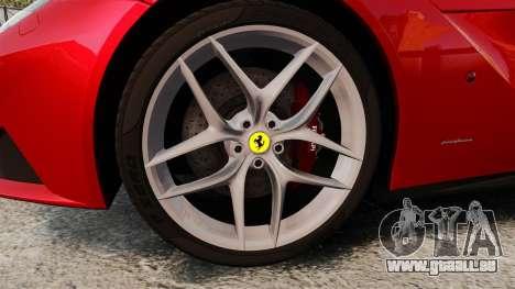 Ferrari F12 Berlinetta 2013 [EPM] Black bars pour GTA 4 Vue arrière