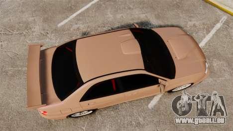 Subaru Impreza WRX STI 2004 pour GTA 4 est un droit
