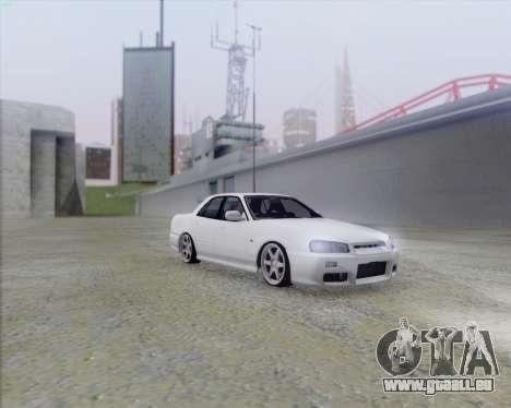 Nissan Skyline ER34 pour GTA San Andreas