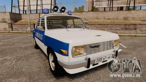 Wartburg 353w Deluxe Hungarian Police für GTA 4
