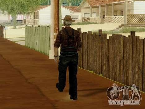 Agriculteur ou modifiée et complétée pour GTA San Andreas neuvième écran
