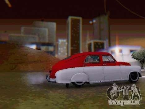 GAZ M-20 Pobeda pour GTA San Andreas laissé vue