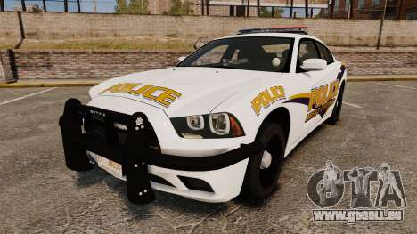Dodge Charger 2013 Liberty University Police ELS für GTA 4