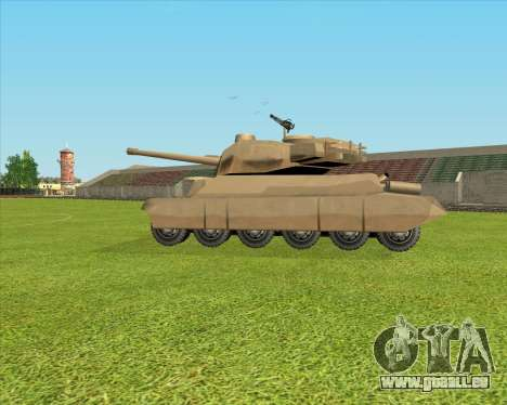 Rhino tp.JSF pour GTA San Andreas sur la vue arrière gauche