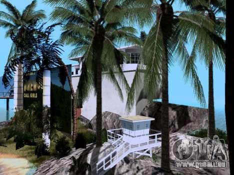 Neue Insel V2.0 für GTA San Andreas siebten Screenshot