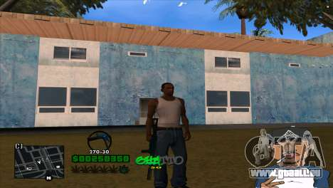 C-HUD By Markus pour GTA San Andreas