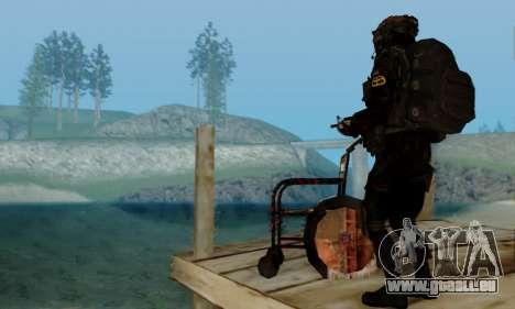 Kopassus Skin 2 pour GTA San Andreas huitième écran