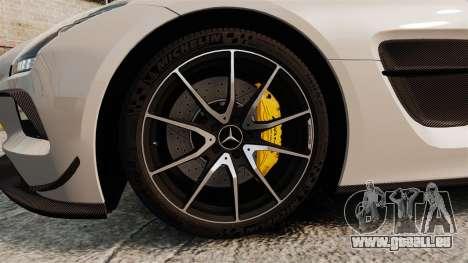 Mercedes-Benz SLS 2014 AMG Driving Academy v1.0 für GTA 4 Rückansicht