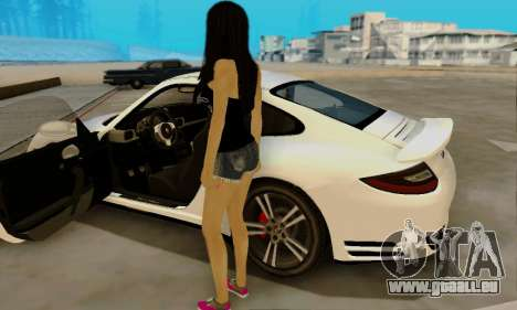 Jack Daniels Girl Skin pour GTA San Andreas quatrième écran
