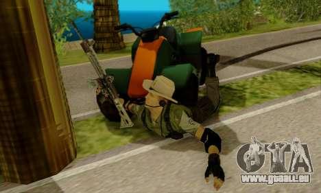Resident Evil Apocalypse S.T.A.R.S. Sniper Skin pour GTA San Andreas troisième écran