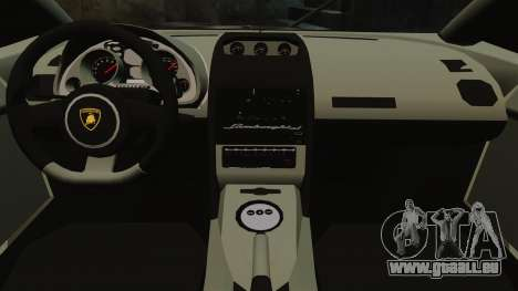 Lamborghini Gallardo LP570-4 Martini Raging für GTA 4 Innenansicht