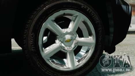 Chevrolet Suburban 2008 FBI [ELS] pour GTA 4 est un droit