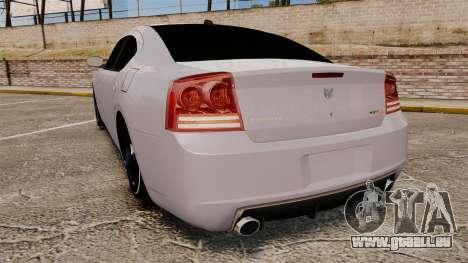Dodge Charger SRT8 2007 pour GTA 4 Vue arrière de la gauche
