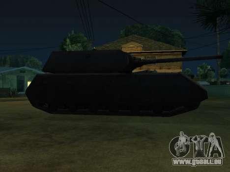 PzKpfw VII Maus pour GTA San Andreas sur la vue arrière gauche