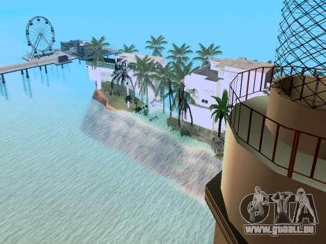 Nouvelle île V2.0 pour GTA San Andreas cinquième écran