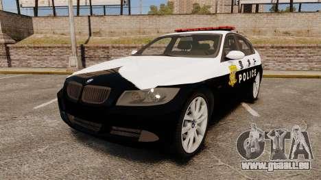 BMW 350i Japanese Police [ELS] pour GTA 4