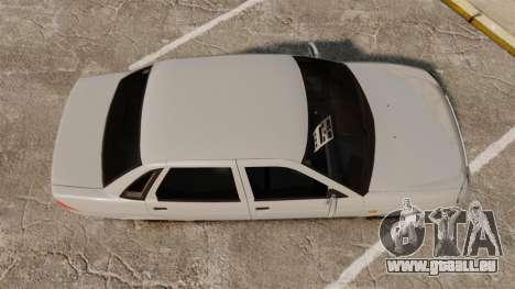 ВАЗ-Lada 2170 Priora v2.0 pour GTA 4 est un droit