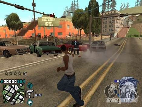 C-HUD Rifa in Ghetto für GTA San Andreas dritten Screenshot