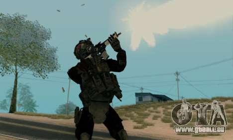 Kopassus Skin 2 pour GTA San Andreas deuxième écran