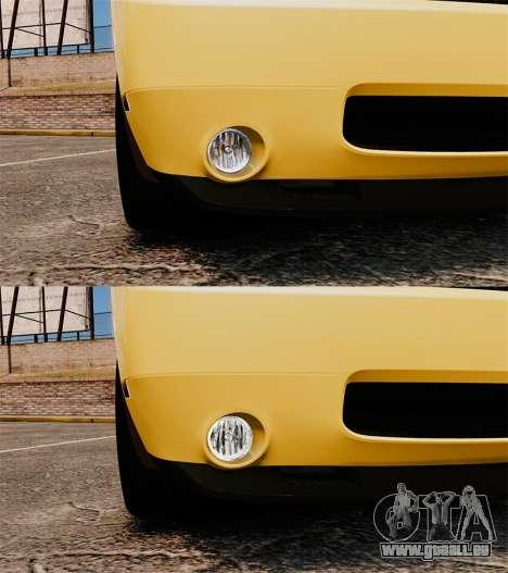 Dodge Challenger SRT8 2009 [EPM] APB Reloaded pour GTA 4 est une vue de dessous