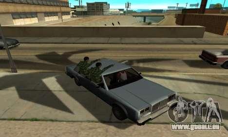 Des ombres dans le style de RAGE pour GTA San Andreas huitième écran