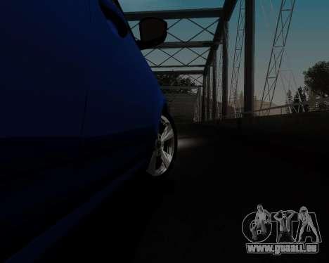 Skoda Octavia A7 pour GTA San Andreas vue de dessus