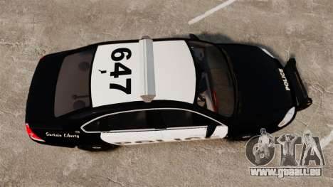 Chevrolet Impala 2008 LCPD [ELS] für GTA 4 rechte Ansicht