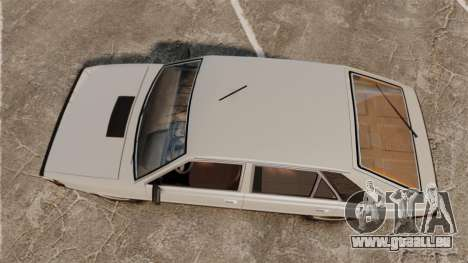 FSO Polonez 1500 pour GTA 4 est un droit