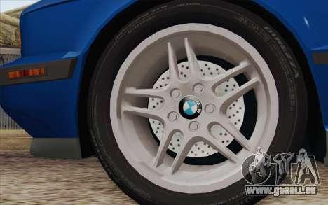 BMW M5 E34 1994 NA-spec für GTA San Andreas zurück linke Ansicht