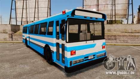Brute Bus Japanese Police [ELS] für GTA 4