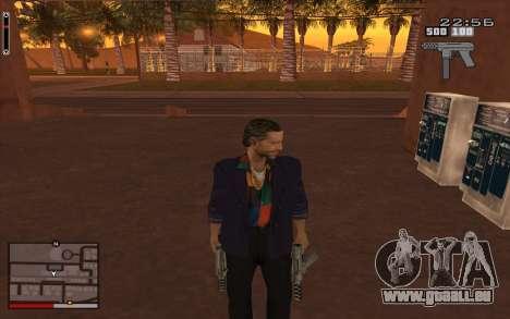 C-HUD GTA 5 für GTA San Andreas dritten Screenshot