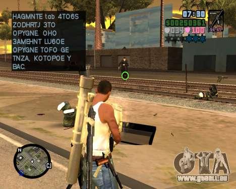 C-HUD Vice Sity für GTA San Andreas dritten Screenshot