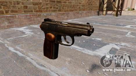 Le Pistolet Makarov pour GTA 4