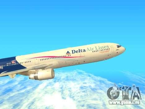 McDonnell Douglas MD-11 Delta Airlines für GTA San Andreas linke Ansicht