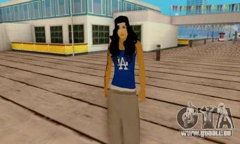 Ophelia v2 pour GTA San Andreas quatrième écran